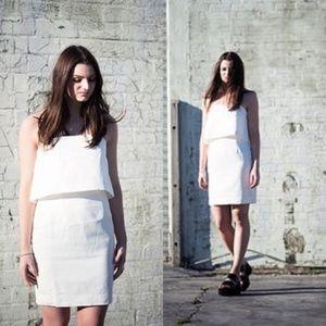 Keep Watch Strapless Keepsake Mini Dress